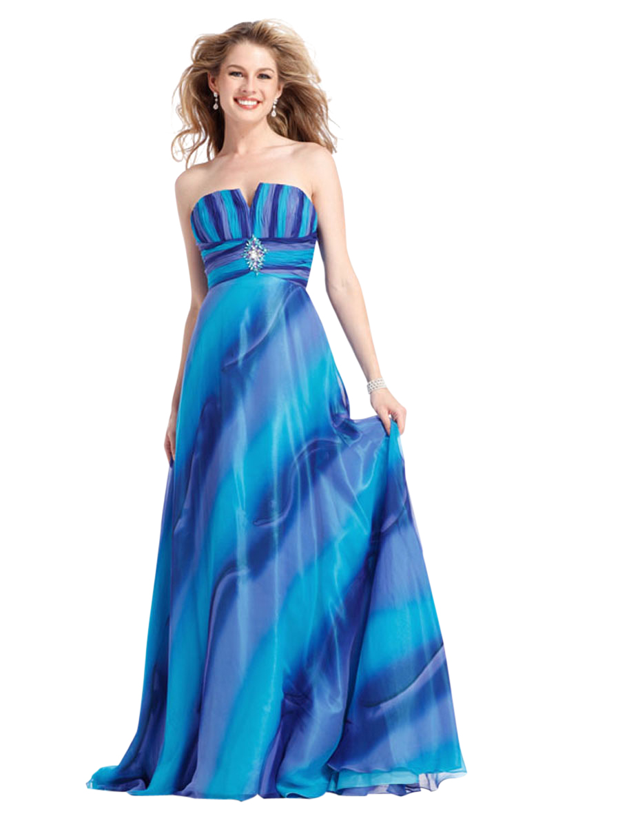 Clarisse Strapless Ombre Formal Dress Clarisse 1371 at Sears.com