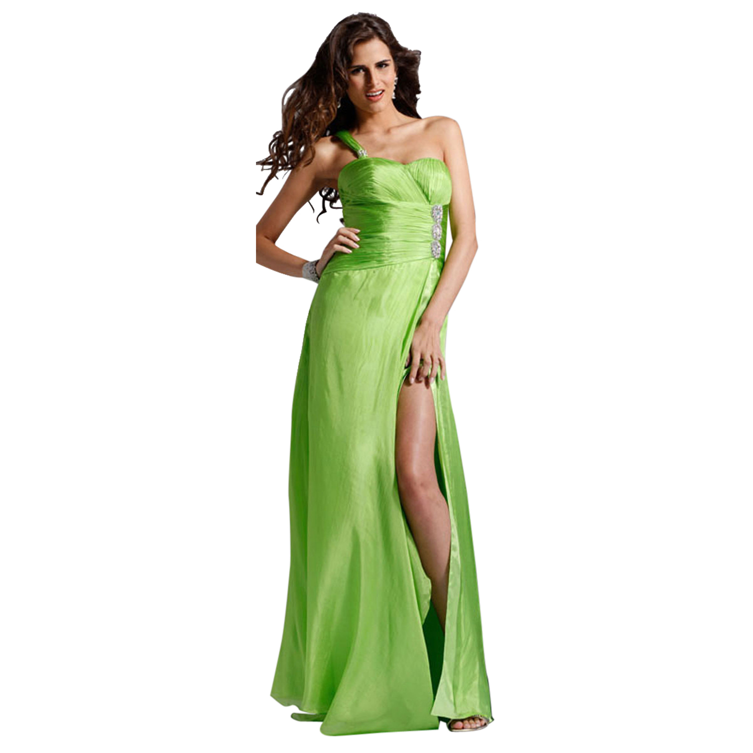 Clarisse Long One Shoulder Party Formal Dress Clarisse 1378 at Sears.com