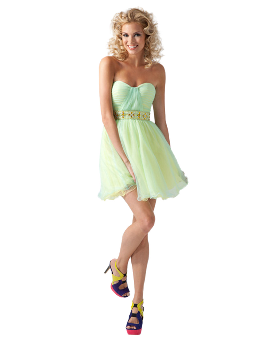 Clarisse Sweetheart Short Party Dress 1651 at Sears.com